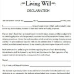 28 Free Download Will Forms In 2020 Living Will Template