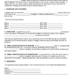 Critical Free Printable Last Will And Testament Blank