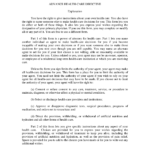 Download Mississippi Living Will Form Advance Directive