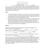 Download North Carolina Last Will And Testament Form PDF