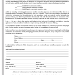 Fillable Florida Living Will Form Printable Pdf Download