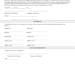 Fillable Missouri Living Will Printable Pdf Download