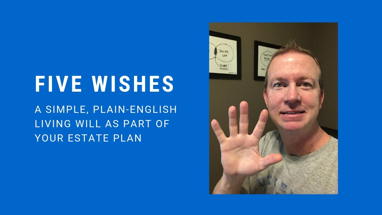 Five Wishes A Legal Living Will In Georgia YouTube