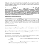 Florida Living Will Form Fillable Pdf Template