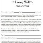 FREE 8 Sample Living Wills In PDF