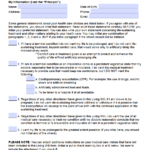 Free Arizona Living Will Form PDF