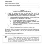 Free Living Will Forms Edit Fill Sign Online Handypdf