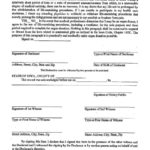 Free Living Will Forms Templates Advance Directive