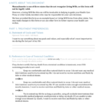 Free Massachusetts Living Will Form PDF EForms Free