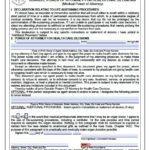 Free Medical Power Of Attorney Iowa Form Living Will