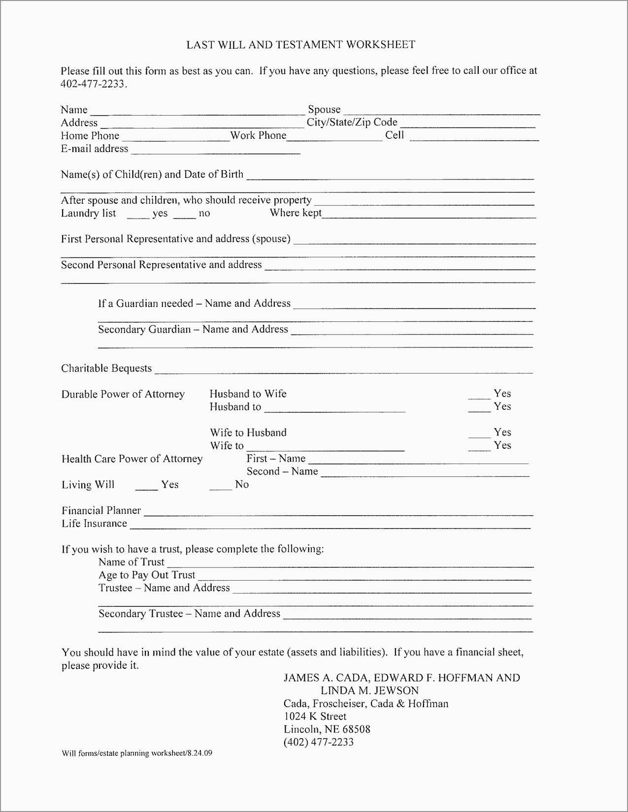 Free Printable Last Will And Testament Forms Free Printable