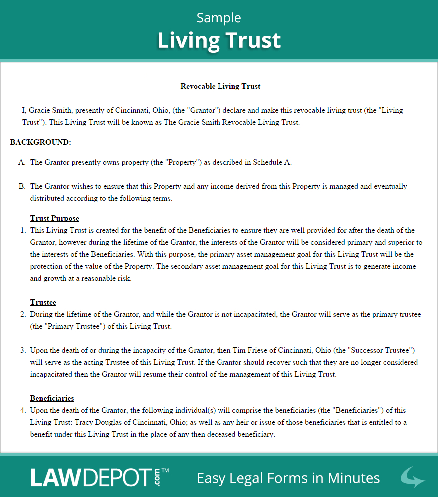 Free Printable Will And Trust Forms Free Printable