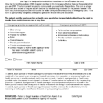 Free Wisconsin Do Not Resuscitate DNR Order Form PDF