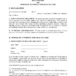 Hawaii Living Will Form Free Printable Legal Forms