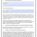 Idaho Durable Medical Power Of Attorney Form Living Will