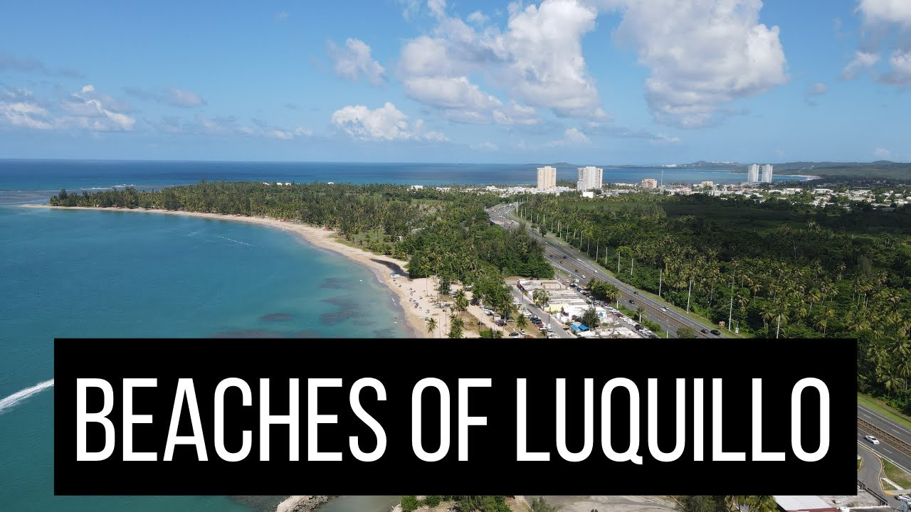 Living In Puerto Rico Beaches In Luquillo YouTube