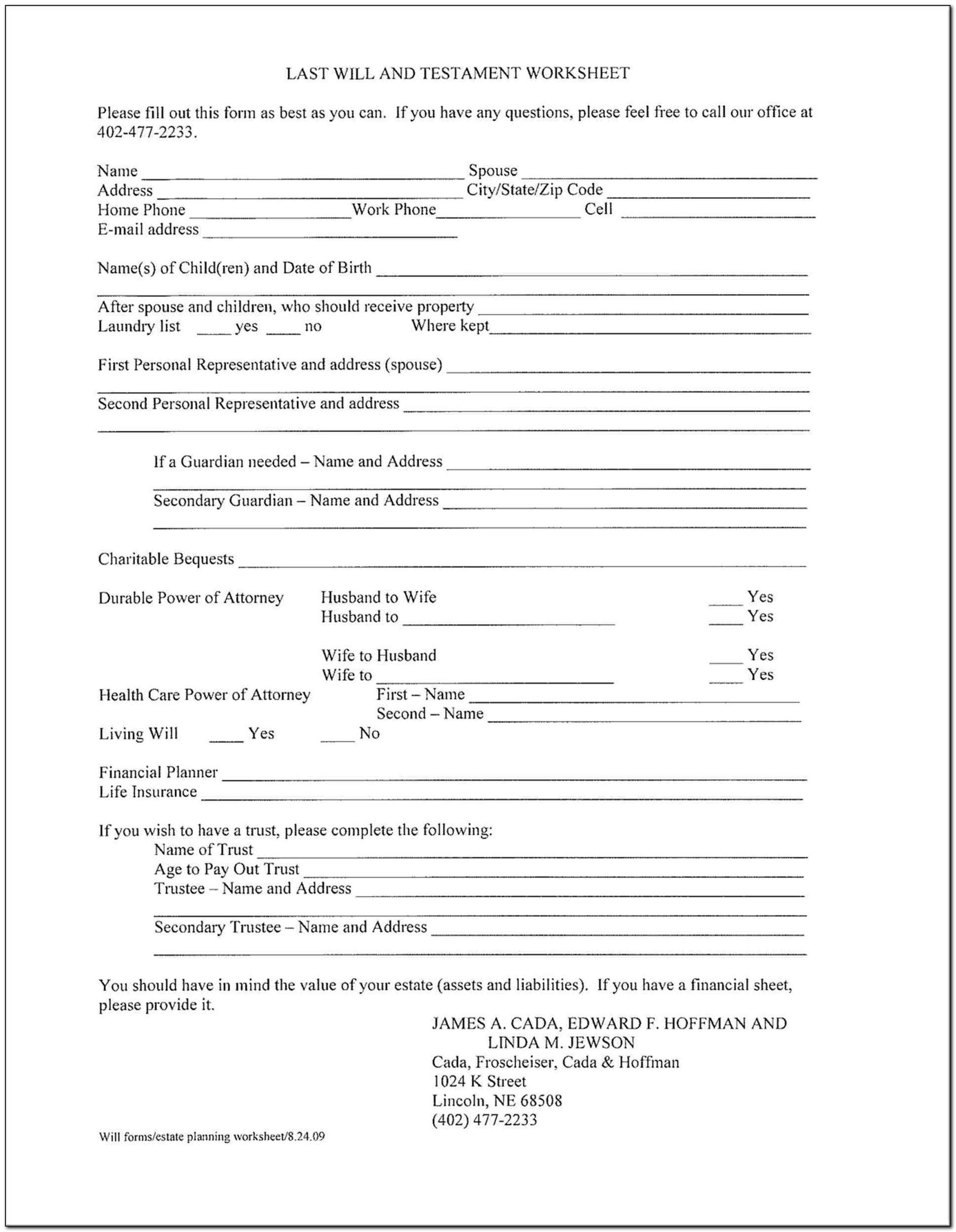 Living Will Form Ontario Canada Form Resume Examples