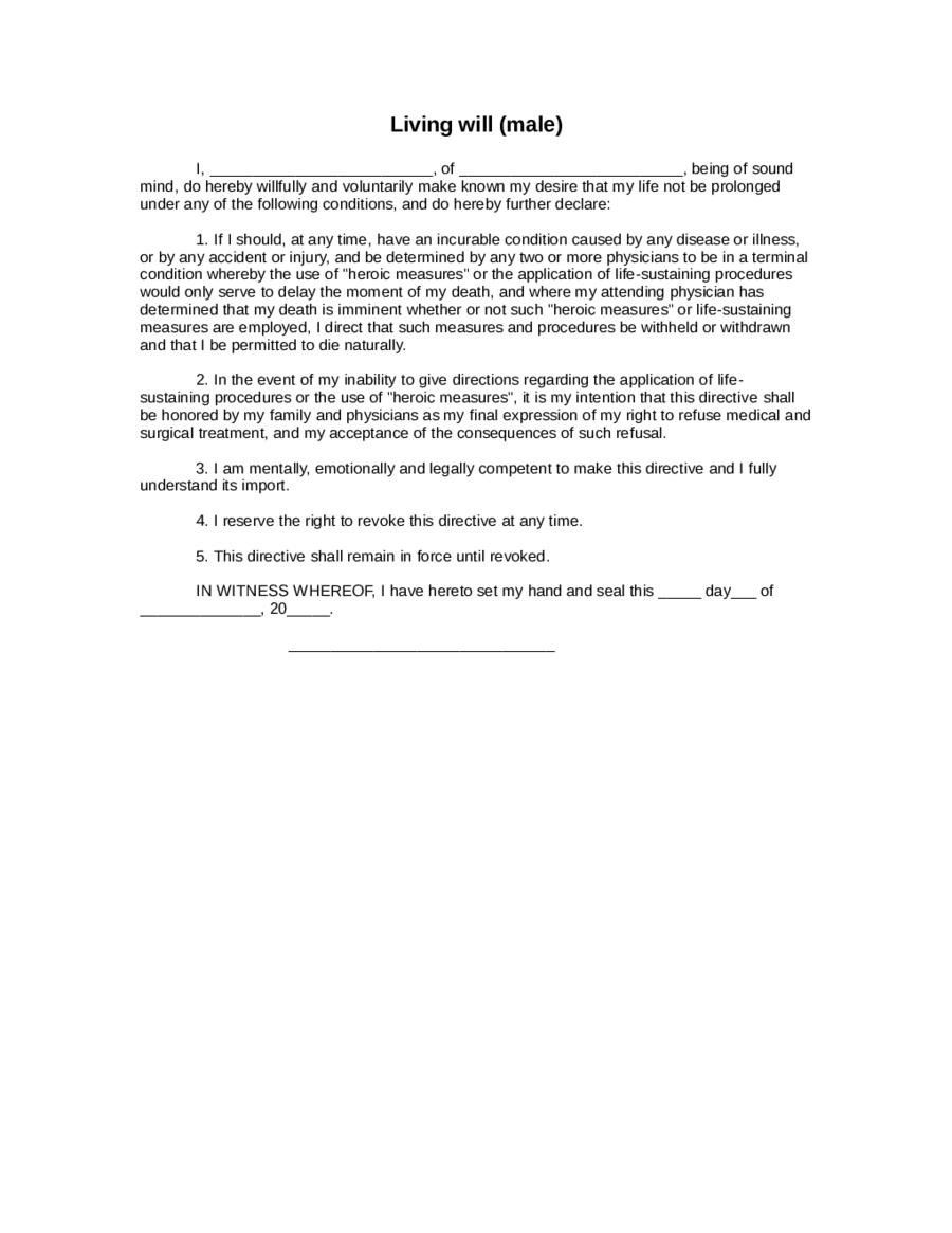 Living Will Form Texas Edit Fill Sign Online Handypdf