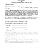 Minnesota Blank Printable Living Will Form Free
