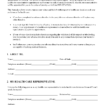 Oregon Living Will Form Free Printable Legal Forms