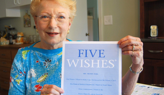The Five Wishes Living Will Makes End Of Life Easier
